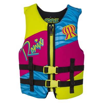 Ronix August Front Zip Girls  (20-40kg)