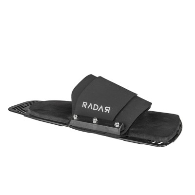 Radar Rubber Fitted Rear Toe Aluminum Plate XL/XXL (EUR 44-48)