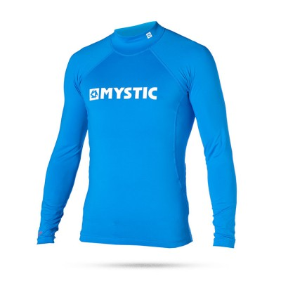 Mystic Star Rash Vest Men L/S Blue XL